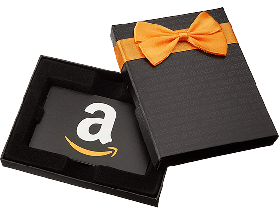 Free Amazon Gift Card example as received by reid_watches